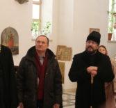 Ардатовскую епархию с частным визитом посетил Главный федеральный инспектор по Республике Мордовия М.С.Сезганов