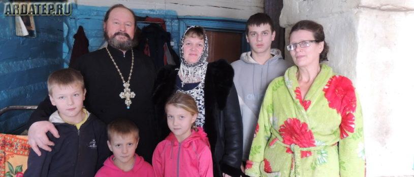 Предрождественская благотворительная акция на Казанском приходе с.Киржеманы первого церковного округа Атяшевского благочиния