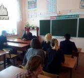 В Ардатовском интернате дом-школе прошел открытый урок, посвященный празднику Крещения Господня