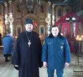 Профилактические мероприятия в храмах Большеигнатовского благочиния