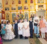 Рождество Христово в церкви Рождества Пресвятой Богородицы с. Поводимово Дубенского благочиния