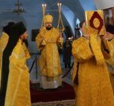 Архиерейское богослужение в Никольском кафедральном соборе г.Ардатова