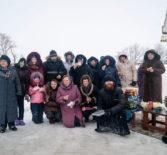 Фестиваль ледовых фигур состоялся в селе Кучкаево Большеигнатовского района