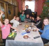 Активно проводят новогодние каникулы воспитанники воскресной школы Космодамиановского прихода