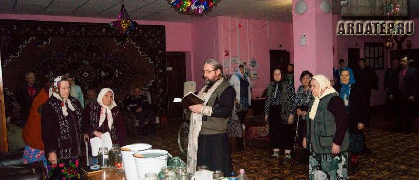 Забота о немощных прихожанах в святые дни Богоявления Господня в Большеигнатовском благочинии