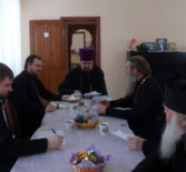 В рамках работы Общественного Совета по развитию православной культуры при Главе Республики Мордовия в Чамзинском благочинии прошло собрание духовенства района