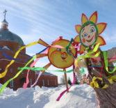 Широкая Масленица — народное гуляние на кафедральной площади г.Ардатова