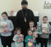 В Чамзинской воскресной школе прошел День зимнего именинника