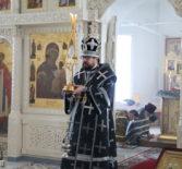 Божественная литургия Преждеосвященных Даров в Никольском кафедральном соборе г.Ардатова