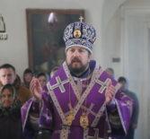 Божественную литургию Василия Великого в Никольском кафедральном соборе г.Ардатова