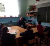 Пасхальная встреча духовника Ардатовского интерната дом-школы с учащимися 5-го класса
