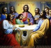 Ночная Божественная литургия в Великий Четверток. Воспоминание Тайной Вечери