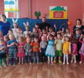 Кукольный спектакль-сказка «Пасхальный колобок» в Апраксинском детском саду