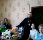 Ардатовское молодёжное Православное Движение «Милосердие» совершает пасхальные визиты радости