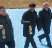 Встреча Благодатного  в храме Андрея Первозванного п.Атяшево