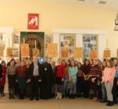 Архипастырь провел Пасхальную встречу с педагогами и студентами МГУ им. Н.П.Огарёва