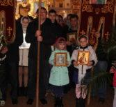 Вербное воскресение в Никольском храме с.Дубенки