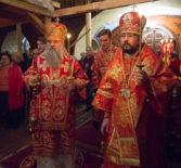 Епископ Ардатовский и Атяшевский Вениамин сослужил Высокопреосвященнейшему Варсонофию, митрополиту Санкт-Петербургскому и Ладожскому в Феодоровском Государевом соборе Царского Села