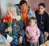 В Атяшево поздравили участницу Великой Отечественной войны 1941-1945 годов Самаркину Марию Семёновну