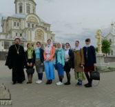 Молодежное Православное движения «Милосердие» совершило паломничество в Серафимо-Дивеевский женский монастырь