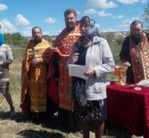 В с.Симкино Большеберезниковского района состоялся молебен перед началом благого дела — строительства нового храма