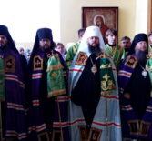 В день обретения мощей Иоанна Оленевского Преосвященнейший Вениамин, епископ Ардатовский и Атяшевский молился у раки с мощами небесного покровителя Пензенской земли