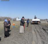 В селе Кочкурово Дубенского благочиния на местном кладбище совершили закладку Часовни