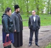 В селе Апраксино Чамзинского района выбрали участок земли под строительство нового храма