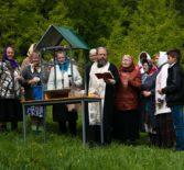 Прихожане Космодамианского храма с.Атяшево Большеигнатовского района посетили Вознесенский источник близ с.Ерпелёво