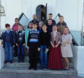 Учащиеся Апраксинской СОШ Чамзинского района посетили г.Ульяновск (Симбирсакая епархия)
