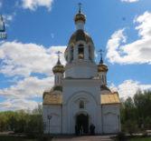 В храме Благовещения Пресвятой Богородицы п.Комсомольский Чамзинского благочиния прошло торжественное архиерейское богослужение