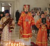 Неделя 4-я по Пасхе, Архипастырь совершил Божественную литургию в Никольском кафедральном соборе г.Ардатова