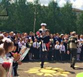 Последний звонок в Тургеневской СОШ Ардатовского района