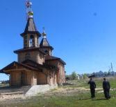 Архипастырь посетил строительную площадку новостроящегося храма в честь Новомученников и Исповедников Российских в г.Ардатове
