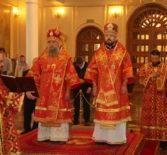 Соборное богослужение духовенства Мордовской митрополии прошло накануне открытия образовательных чтений в честь Кирилла и Мефодия, учителей Славянских.