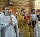 Вознесение Господне на Лукинском архиерейском подворье Ардатовской епархии в г.Саранске