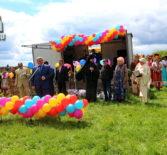 Архипастырь посетил Троицкие народные гуляния в с.Урусово Ардатовского района