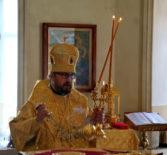 Традиционное субботнее архиерейское богослужение в Никольском кафедральном соборе г.Ардатова