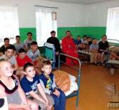 На базе ардатовского оздоровительного детского лагеря «Орленок» проводится православный детский спортивно-патриотический лагерь