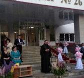 Архипастырь посетил выпускной вечер в Саранском лицее №26