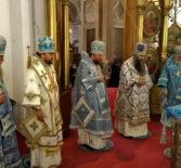 В Арзамасе торжественно встретили чтимую икону Божией Матери «Достойно есть» Новодевичьего Алексеевского женского монастыря