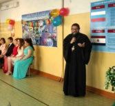 Епископ Ардатовский и Атяшевский Вениамин посетил выпускной вечер в Ардатовской основной школе