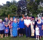 В селе Манадыши-2 Ардатовского района освятили место для возведения часовни во имя Архистратига Божия Михаила
