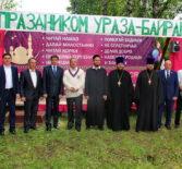 Духовенство Дубенского благочиния поздравило жителей с.Ломаты с Днем села