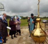 В селе Кочкурово Дубенского района совершилось долгожданное событие — на построенную прикладбищенскую часовню воздвигнут купол с крестом