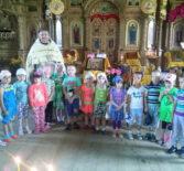 Большеигнатовская юная паства молитвенно встретила праздник равноапостольного князя Владимира