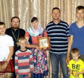 В день памяти святых благоверных Петра и Февронии Муромских поздравили многдетную семью г.Ардатова