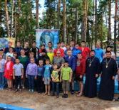 Торжественное открытие православного детского спортивно-патриотического лагеря Ардатовской епархии
