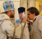Божественная литургия в Никольском кафедральном соборе г. Ардатова
