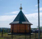 Освящение вновь выстроенной кладбищенской часовни в селе Большое Игнатово